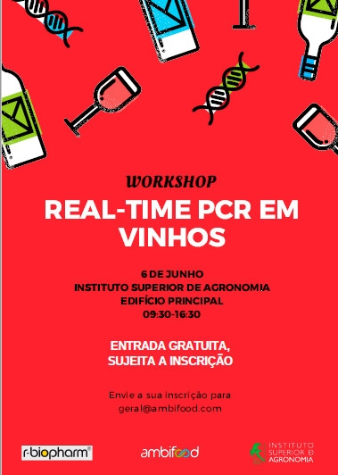 "Workshop ""real time PCR em vinhos"""